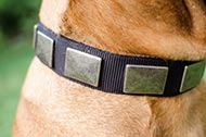 "Collare in nylon ""Concrete slabs"" per Bullmastiff"